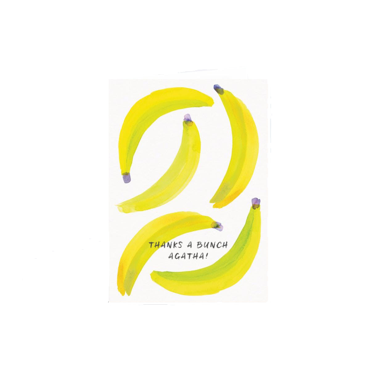 Papier Bananas Greeting Card