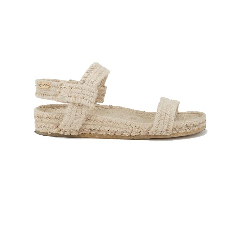 Of Origin Salines Natural Jute Sandal