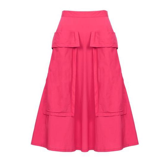 LHD The Bardot Skirt Red