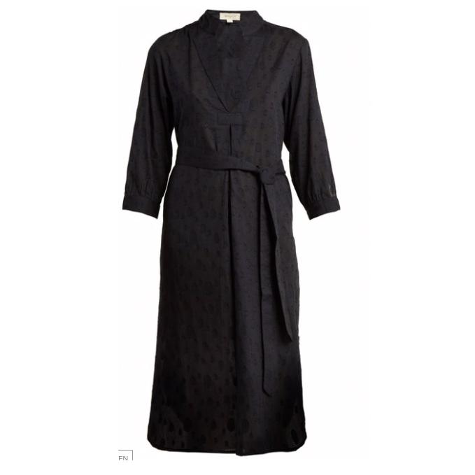WIGGY KIT St Germain fil-coupé cotton dress