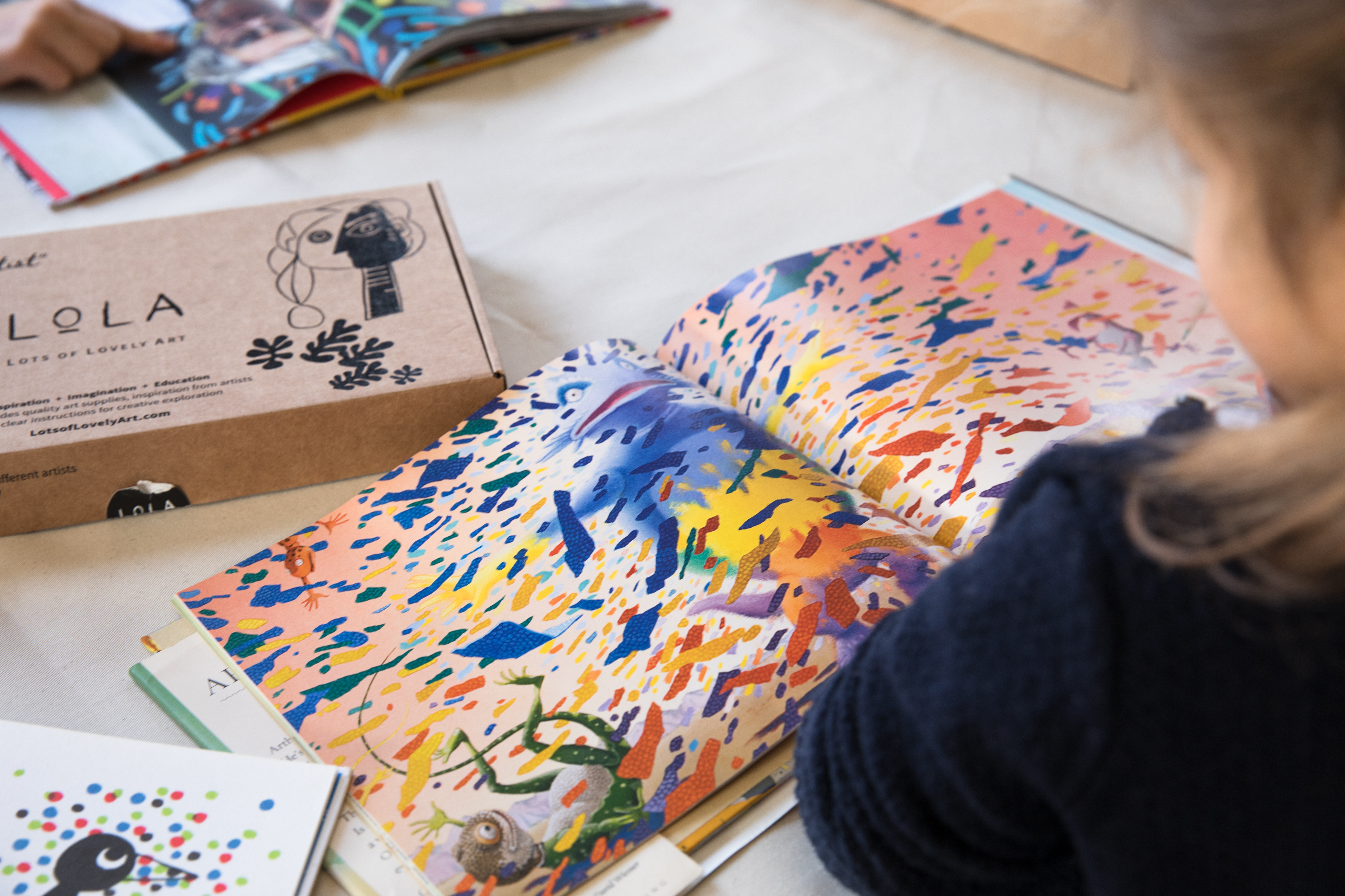 Lots of Lovely Art Is Making Art Accessible, Easy and Fun For Children (And Their Parents)