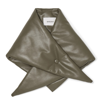 NANUSHKA Vegan leather scarf £84 EXCLUSIVE