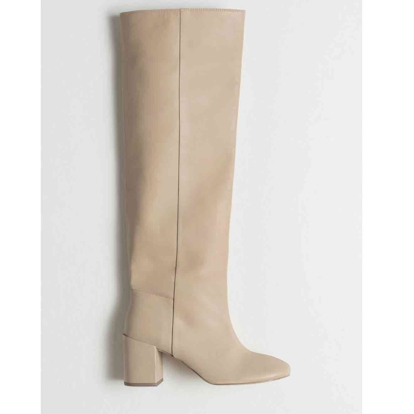 & OTHER STORIES Knee High Leather Boots  £199