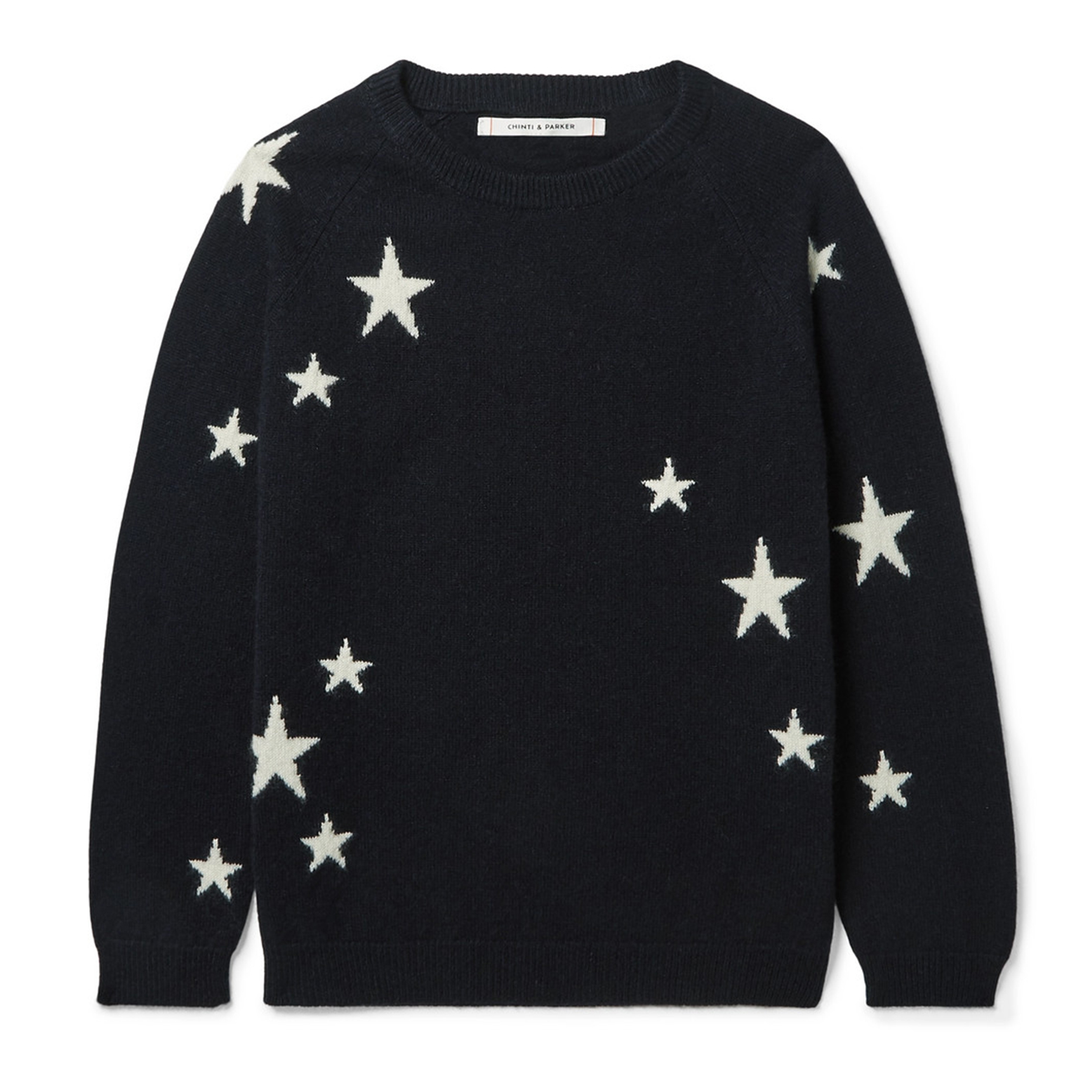 Chinti & Parker Kids Intarsia Cashmere Sweater