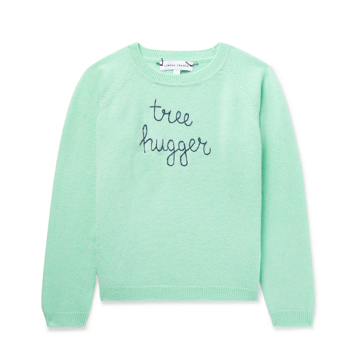 Lingua Franca Kids Tree Hugger Sweater