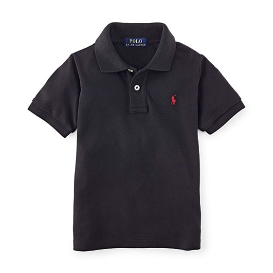 Polo Ralph Lauren Cotton Mesh Polo Shirt – Kids