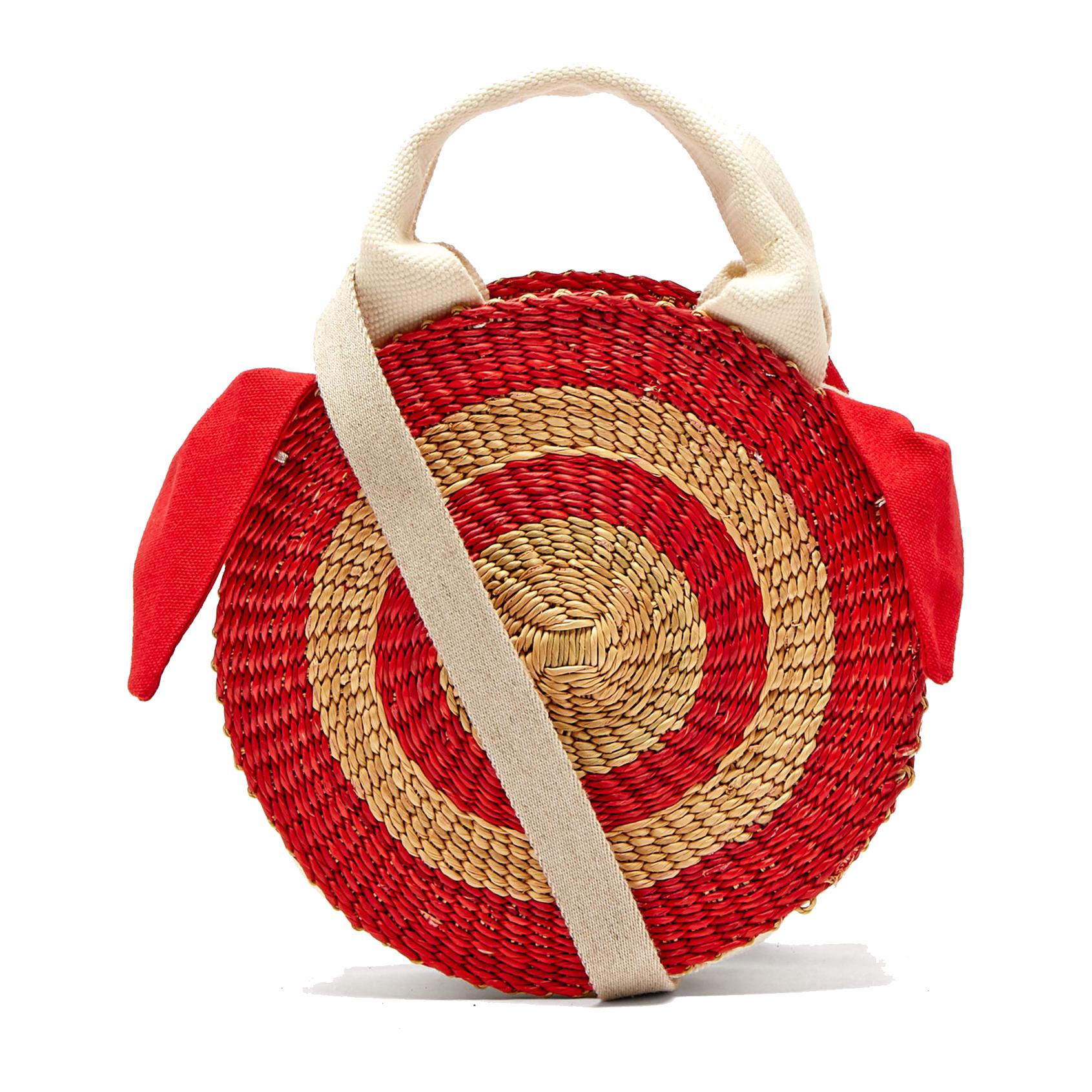 Muuñ Rosa Straw Bag