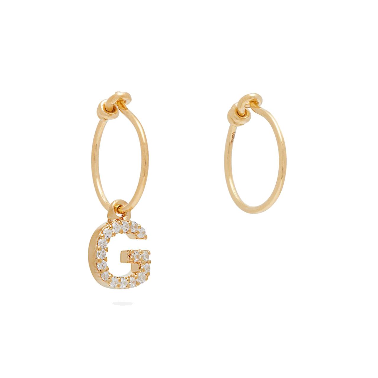 Theodora Warre Mismatched Hoop Earrings