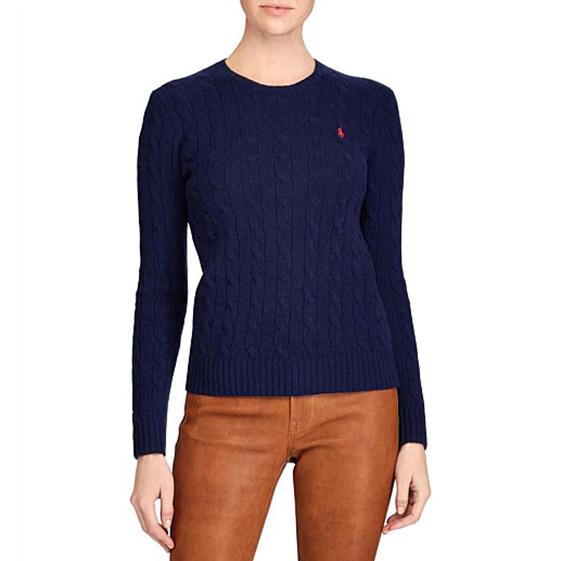 Polo Ralph Lauren Julianna Classic Long Sleeve Sweater