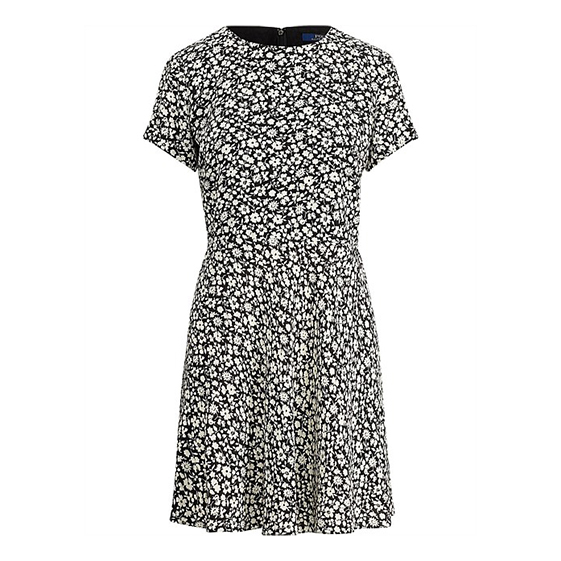 Polo Ralph Lauren Floral-Print Crepe Dress