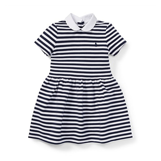 Polo Ralph Lauren Striped Fit-And-Flare Dress