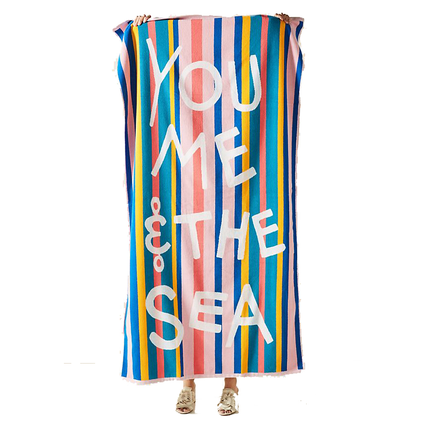 Anthropologie You, Me, Sea Beach Towel