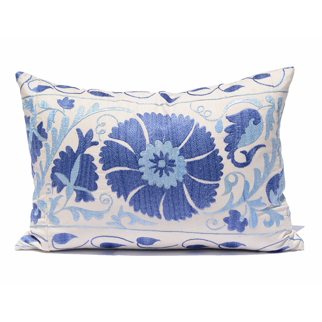 Kushaan Hand Cut Vintage Suzani Pillow