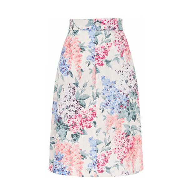 Ephemera Bloom A-line Skirt