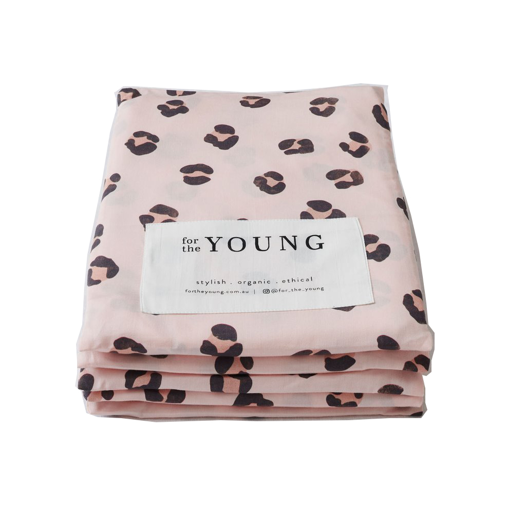 For The Young Fitted Cot Sheet The Wild One