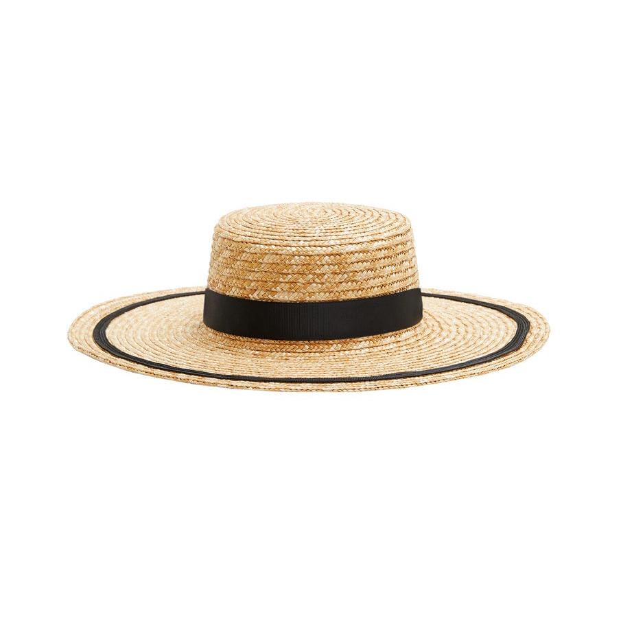 Mango Contrast Ribbon Hat