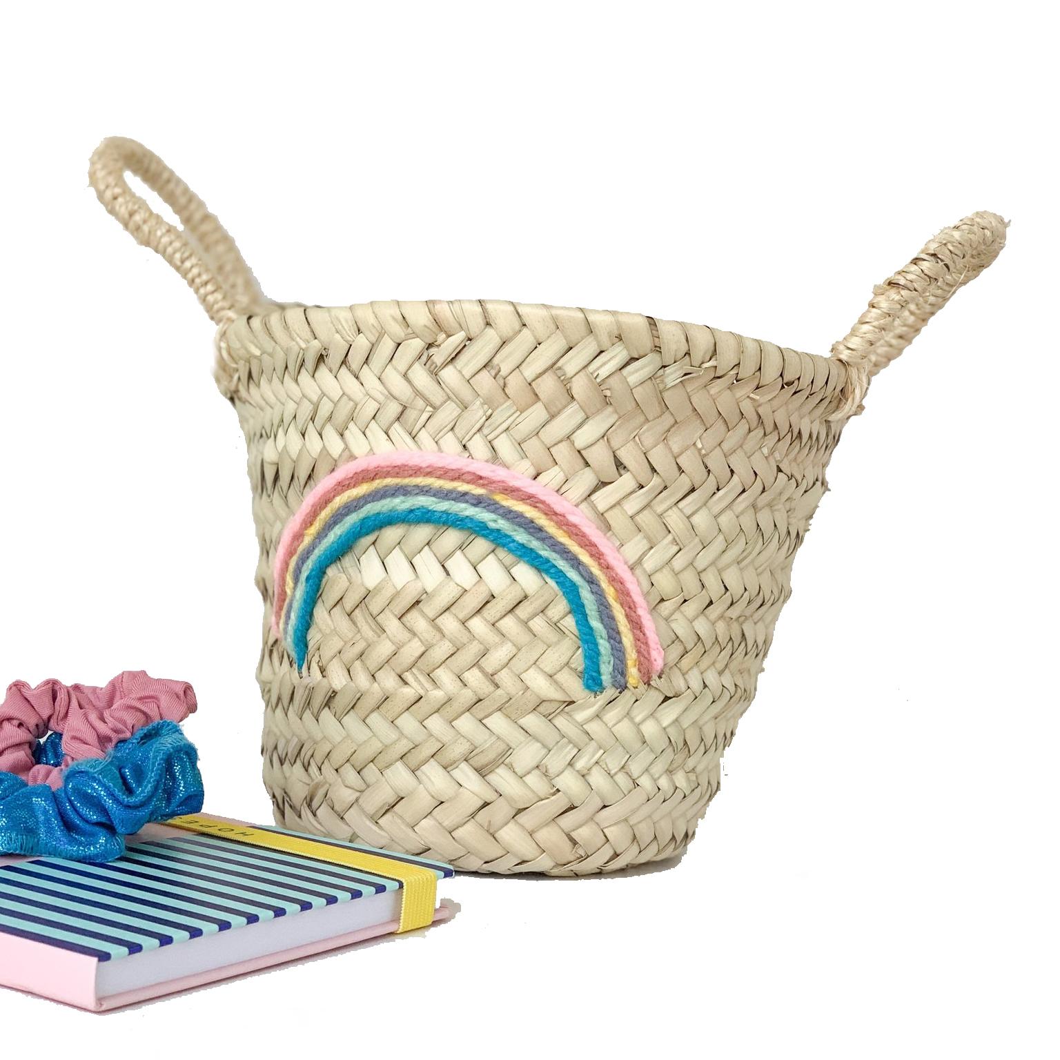 Pretty Snippets Rainbow Mini Basket