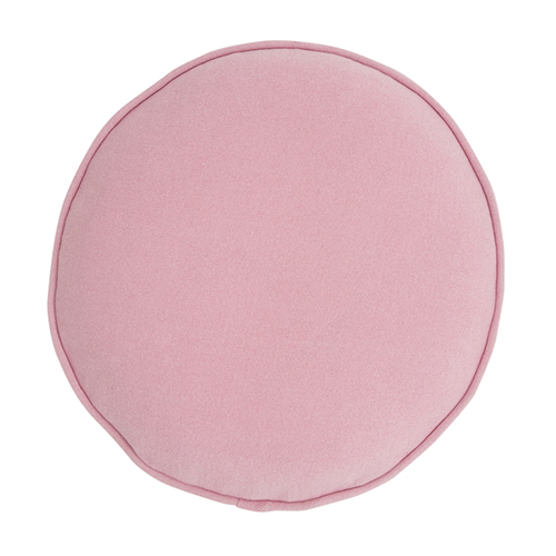 Castle And Things Pink Cotton Knit Penny Round Cover