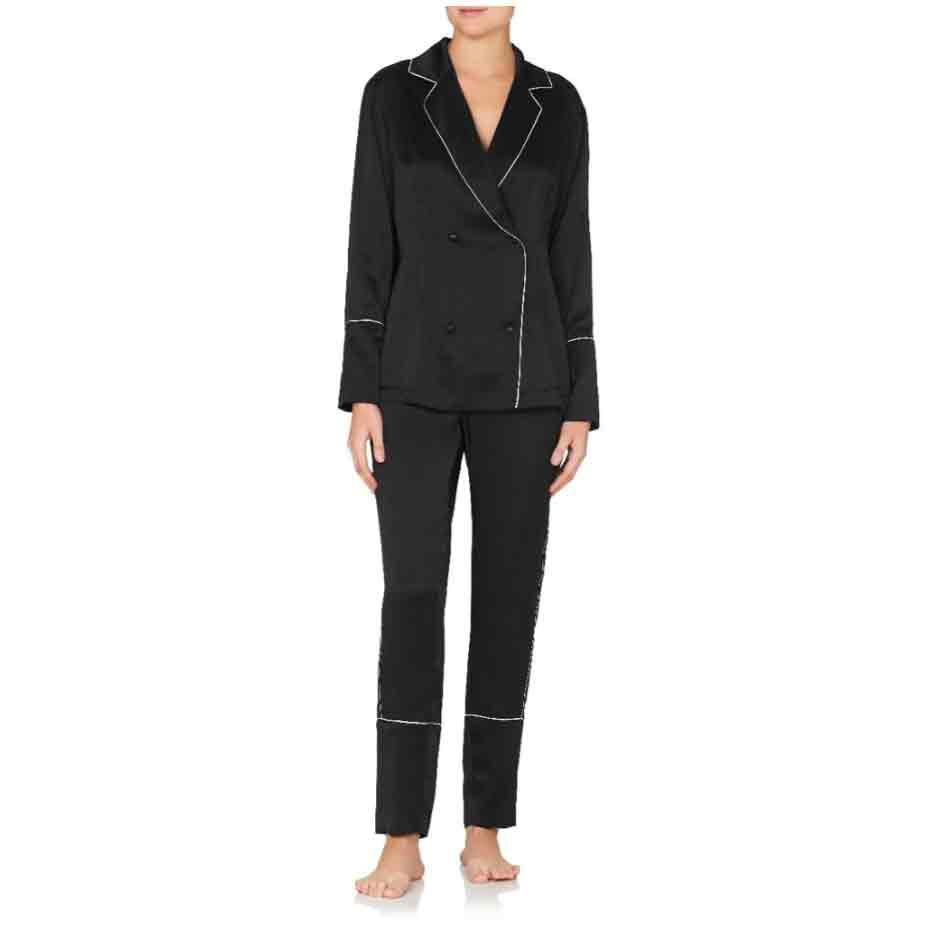 Jasmine & Will Atrani Long Pyjama Set – Black  $159