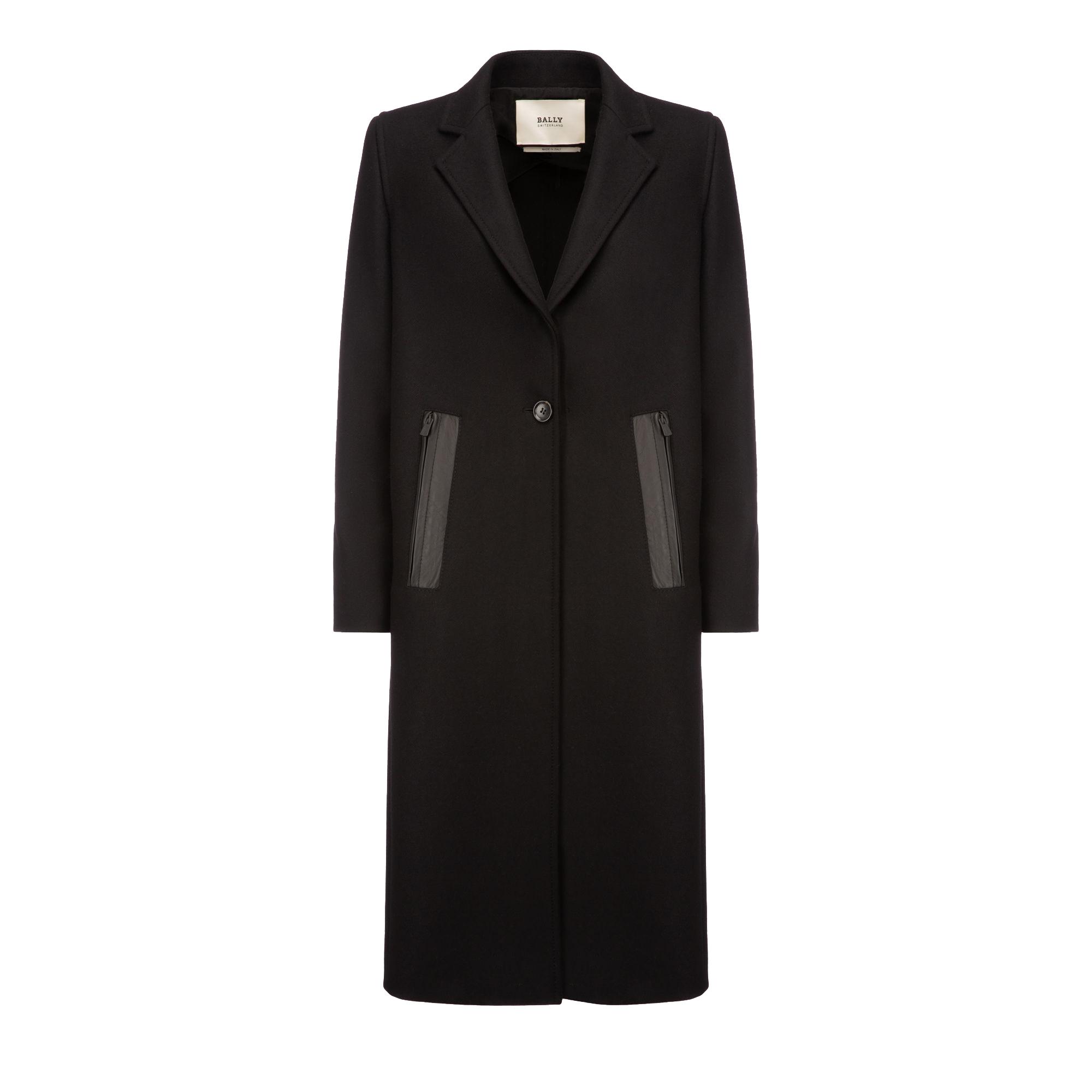 Bally Single Breasted Long Coat