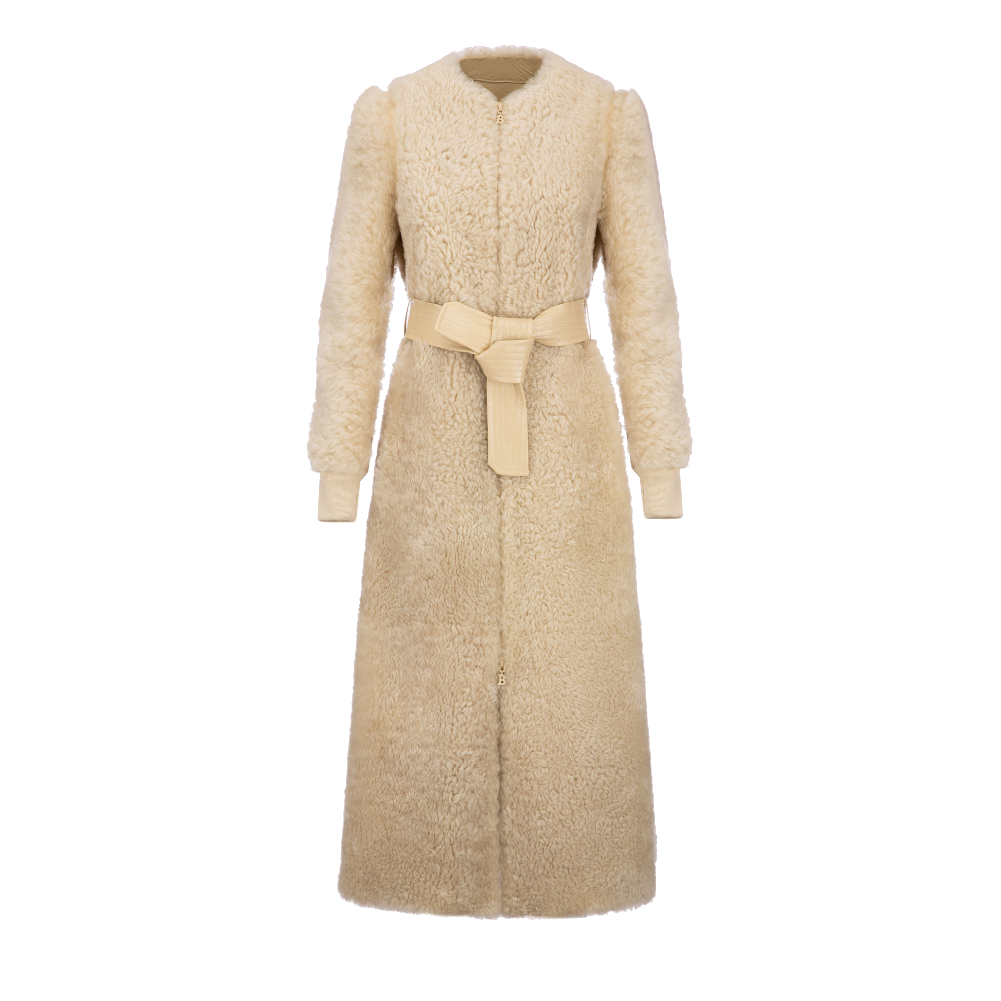 Bally Shearling Long Coat