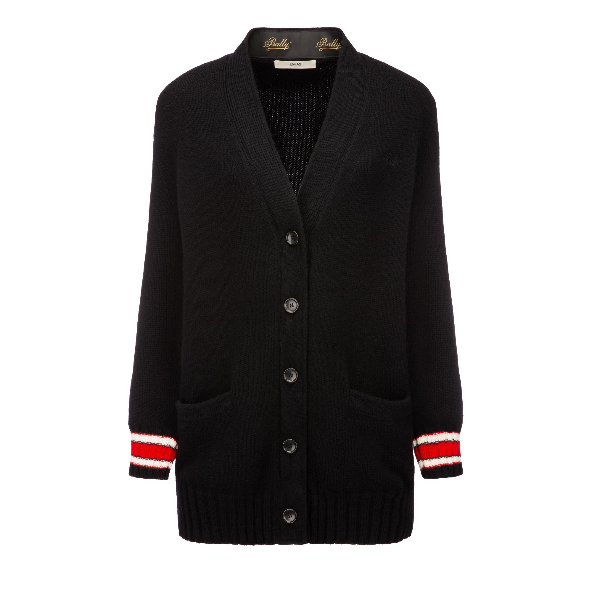 Bally Wool-Cashmere Long Cardigan