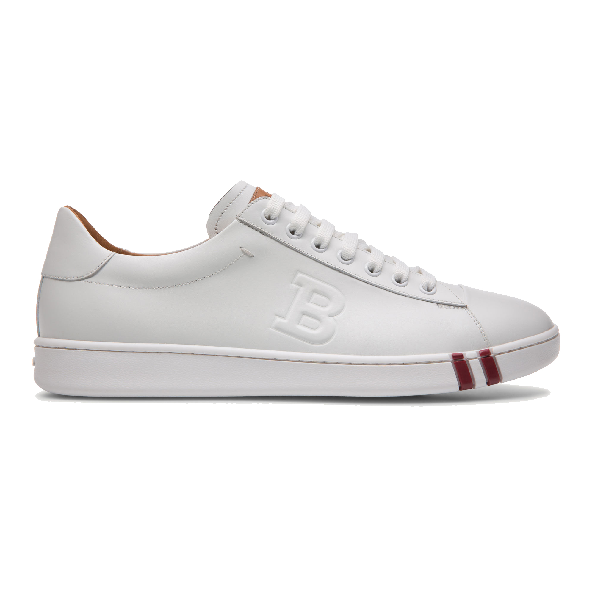Bally Wivian Leather Perforated Trainer
