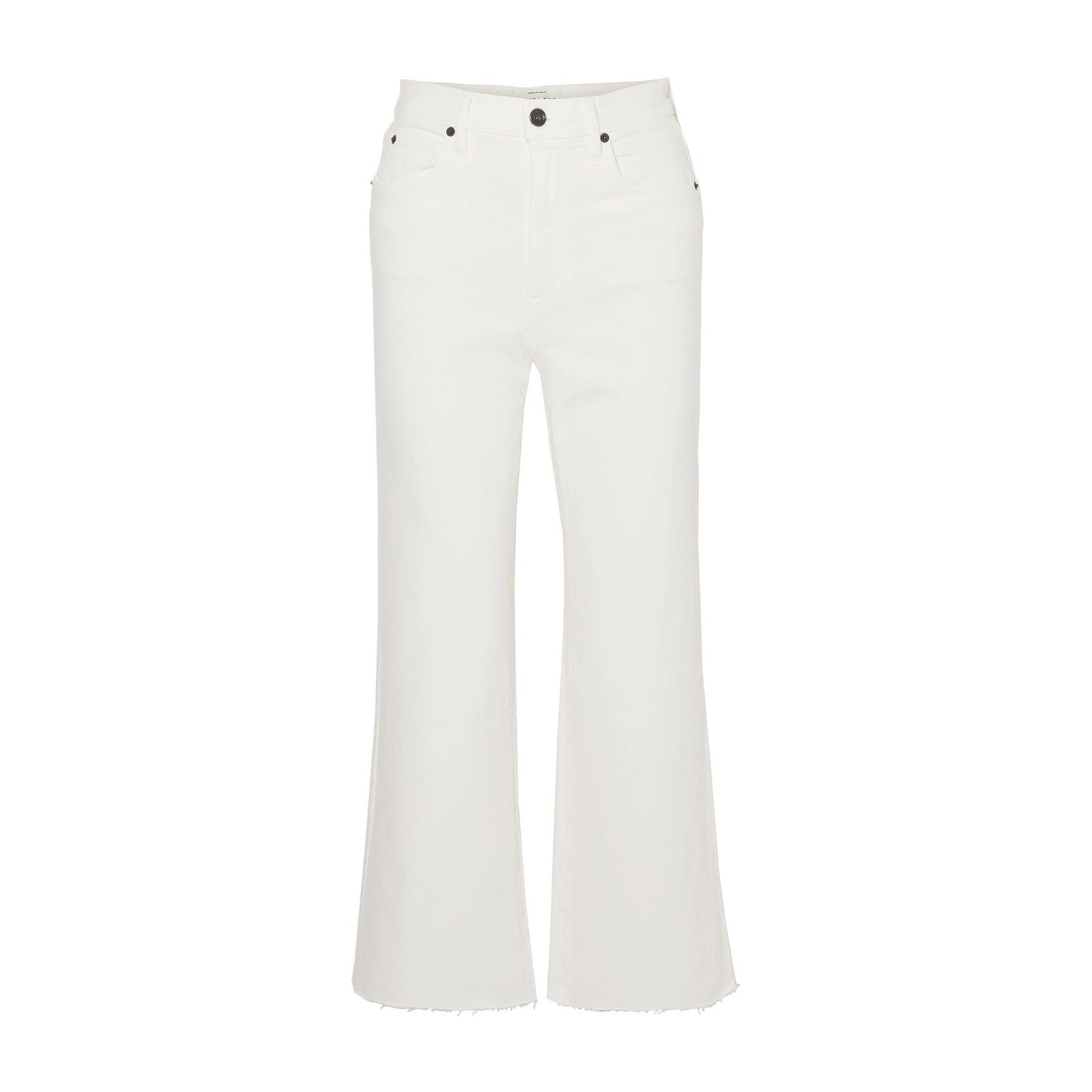 SLVRLAKE Grace Cropped Frayed Jeans