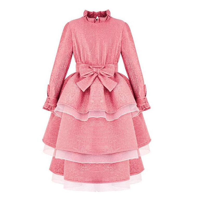Megan Hess Claris x Poca & Poca – Blushing Coral Dress $490