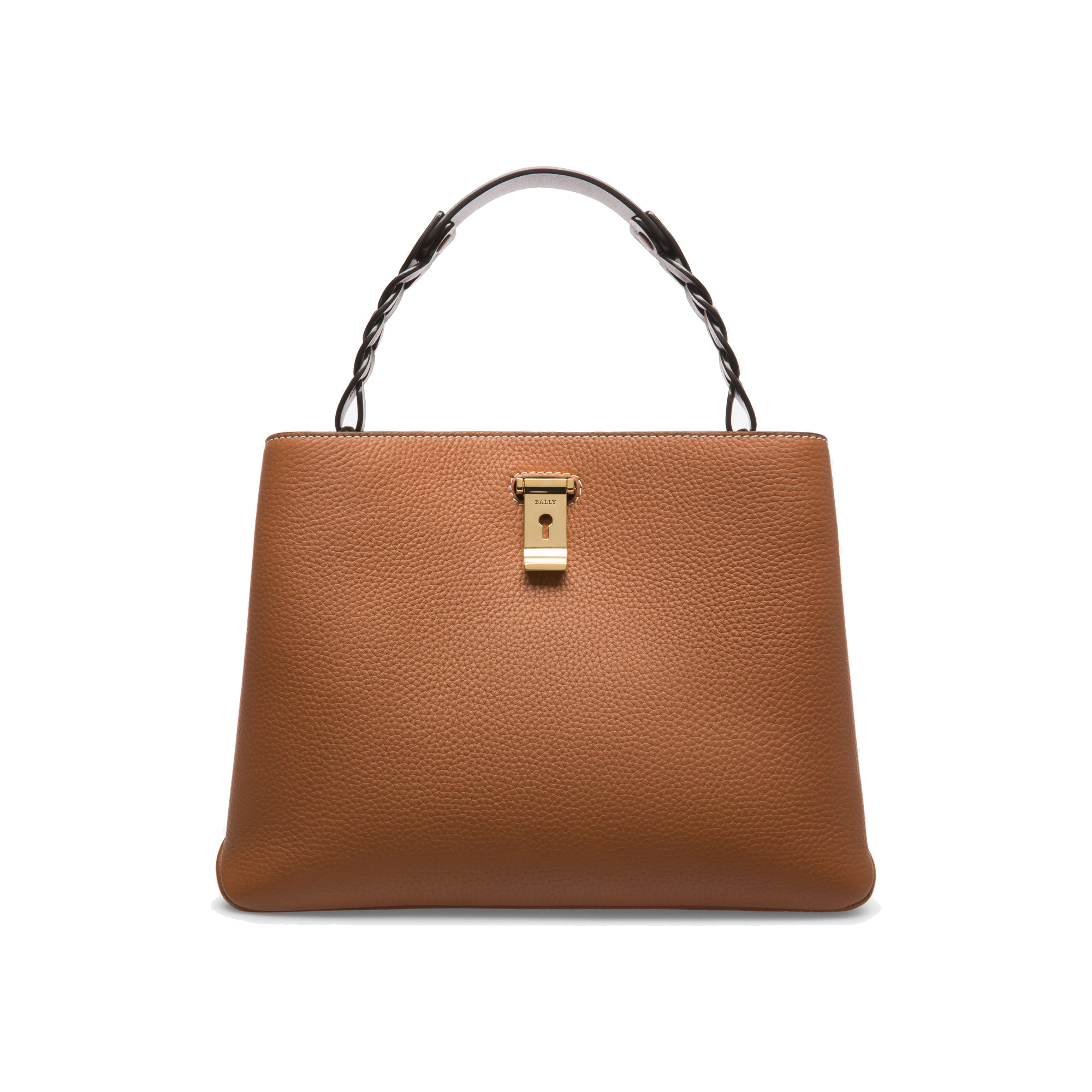 Bally Lucyle Leather Shoulder Bag