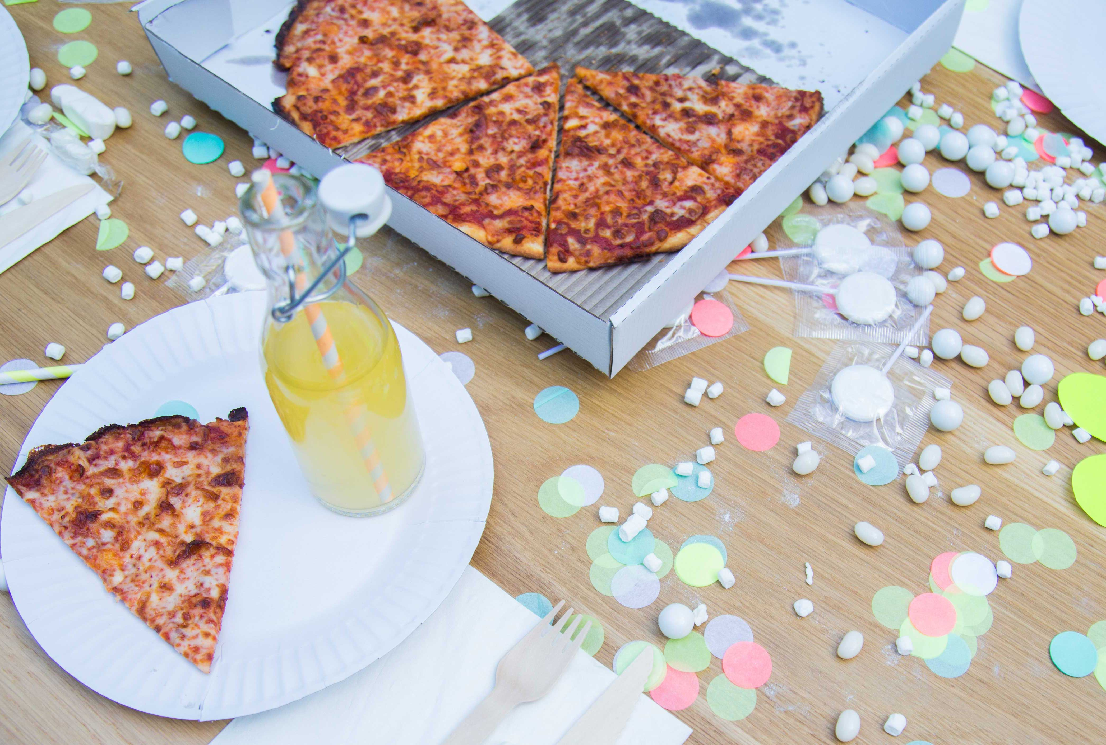 This is The Most Chic Pizza Party We've Ever Seen