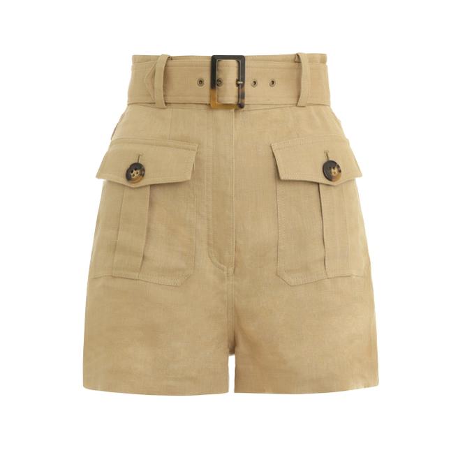 Zimmermann Suraya Safari Shorts