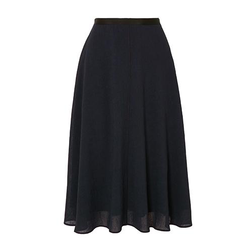 Cefinn Grosgrain-Trimmed Voile Skirt