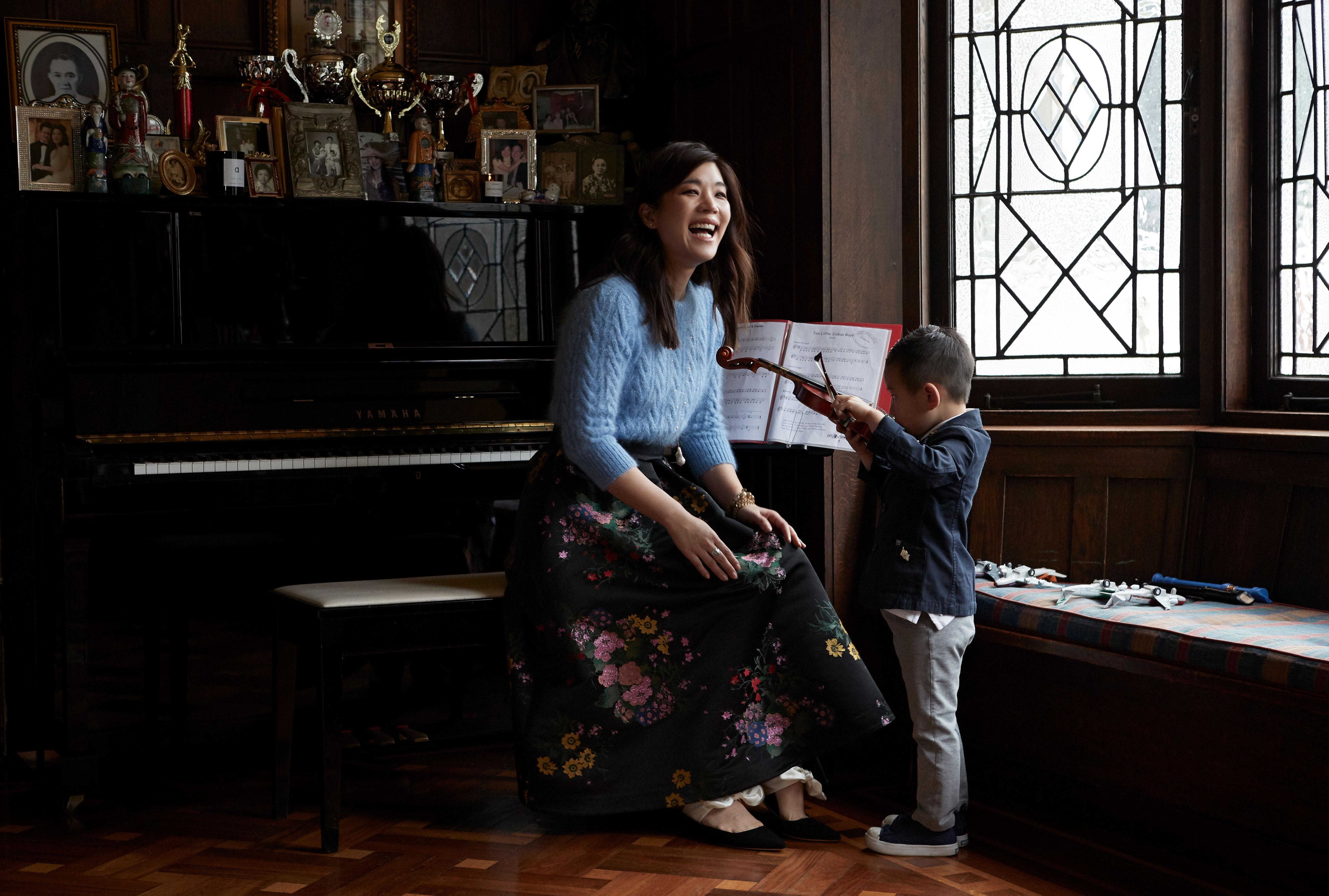 Shen-Tel Lee Shares Her Letter To Her Two Boys, Benjamin & Kingston