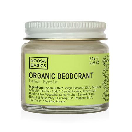 Noosa Basics Organic Deodorant Cream – Lemon Myrtle