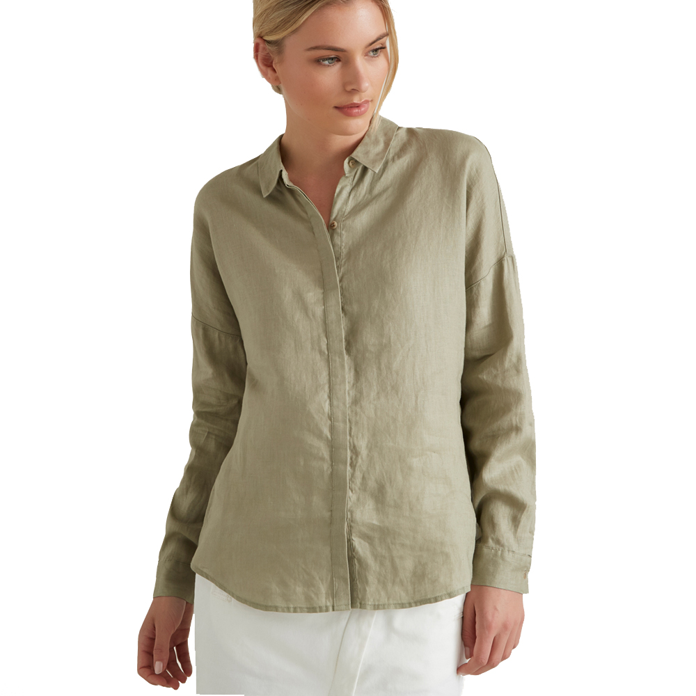 Seed Heritage Classic Linen Shirt