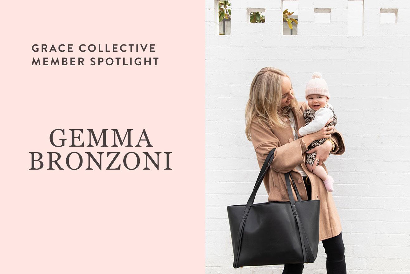 Meet the GRACE Collective: Gemma Bronzoni