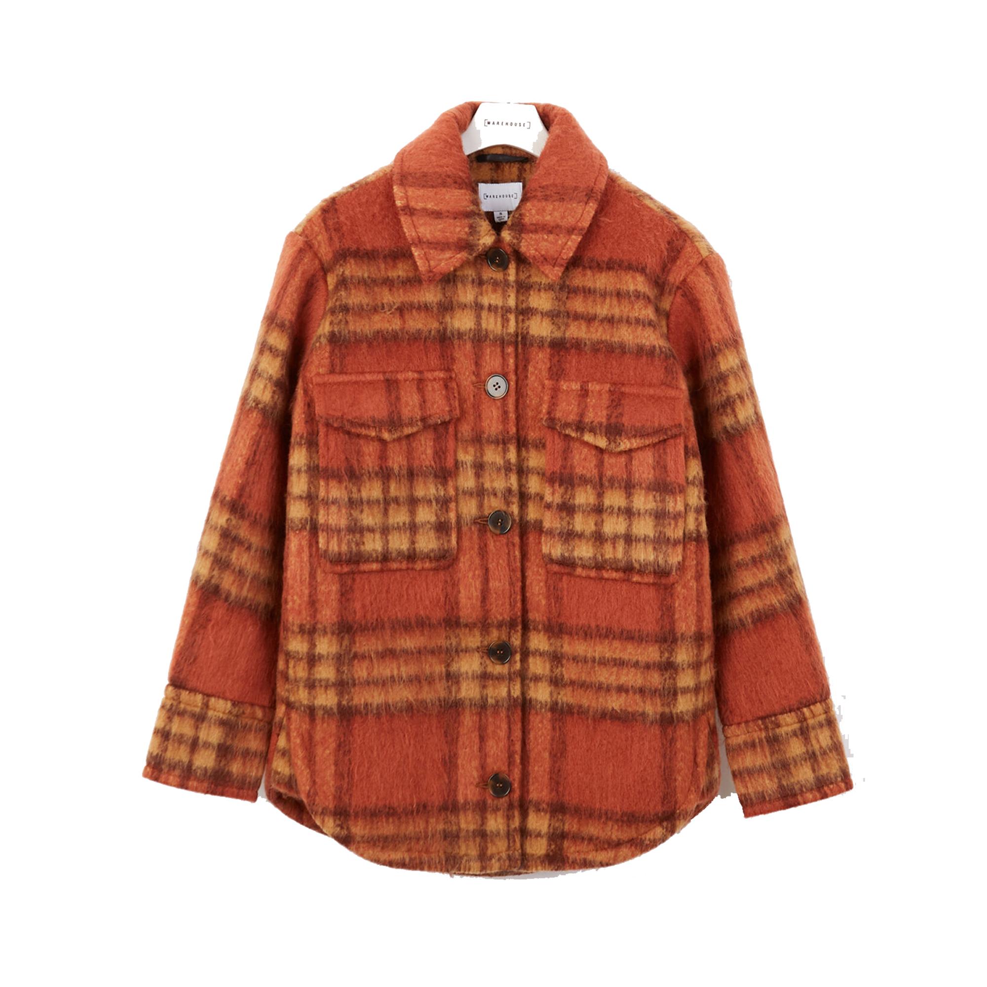 Warehouse Check Boxy Trucker Jacket