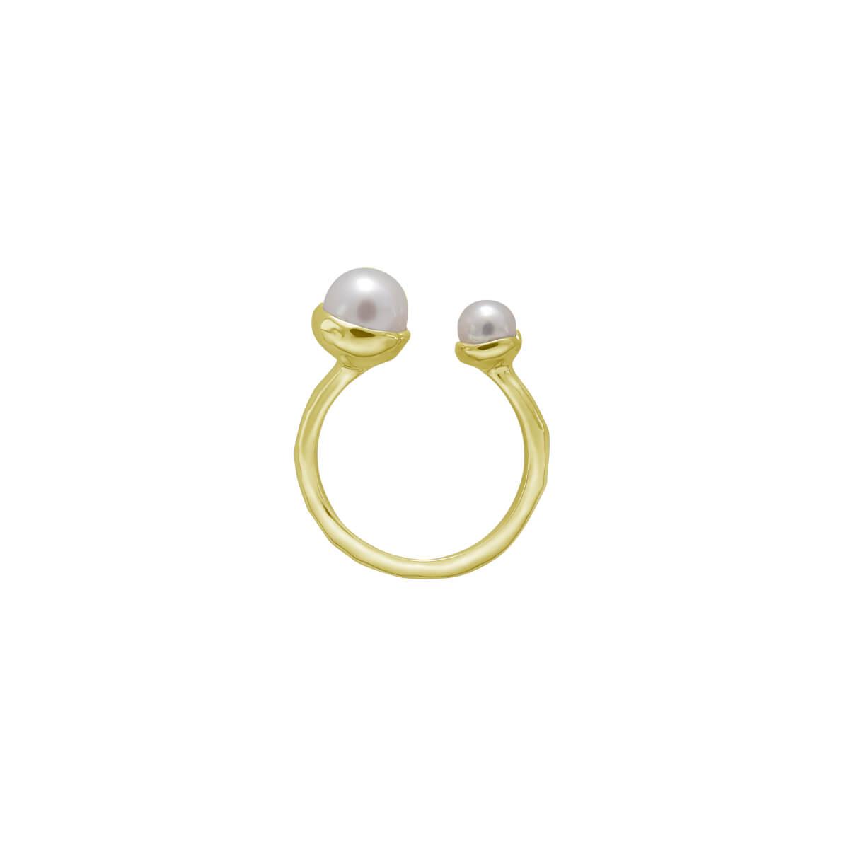 Murkani Riviera Double Pearl Ring