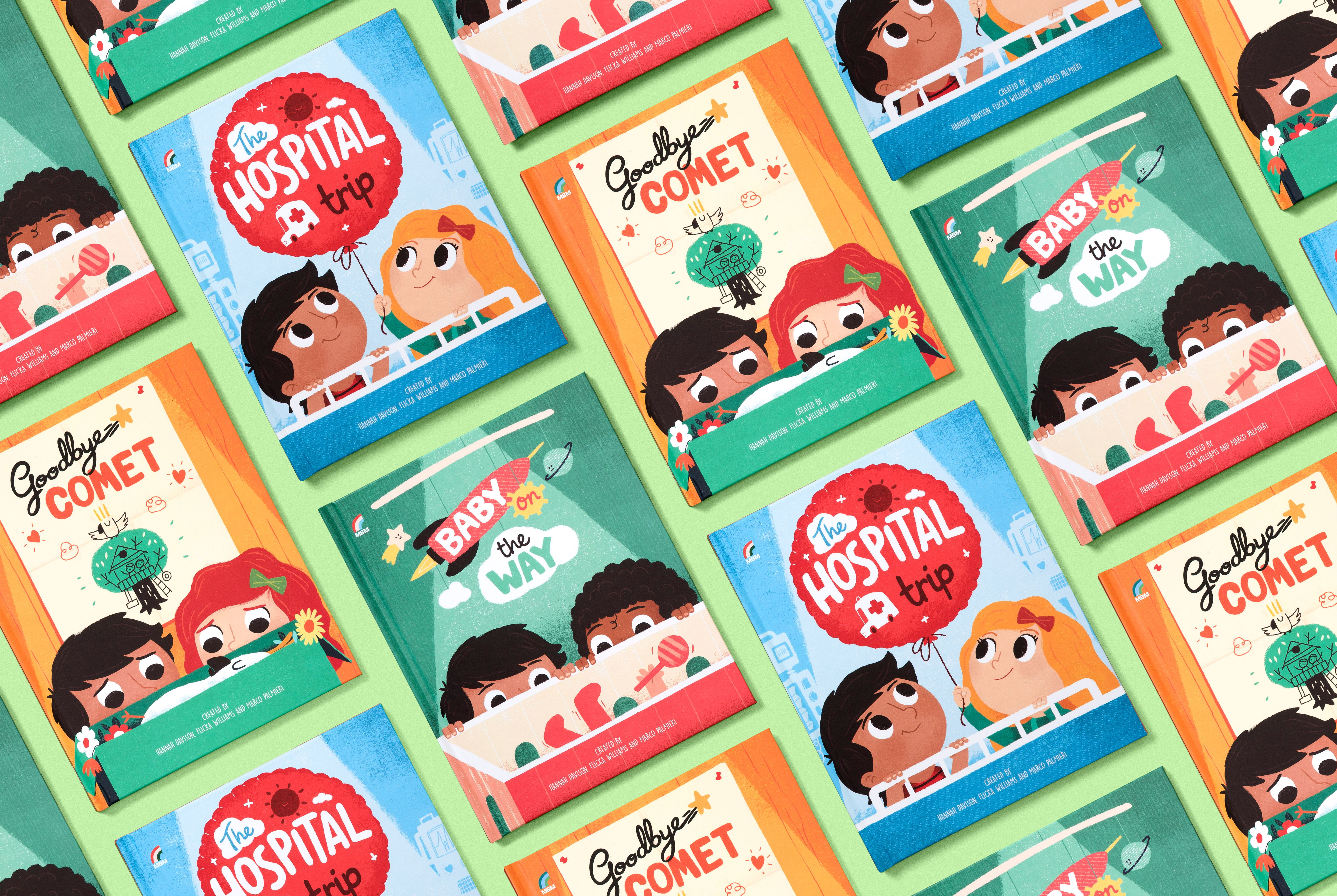 The Personalised Picture Books Helping Little People Through Big Moments