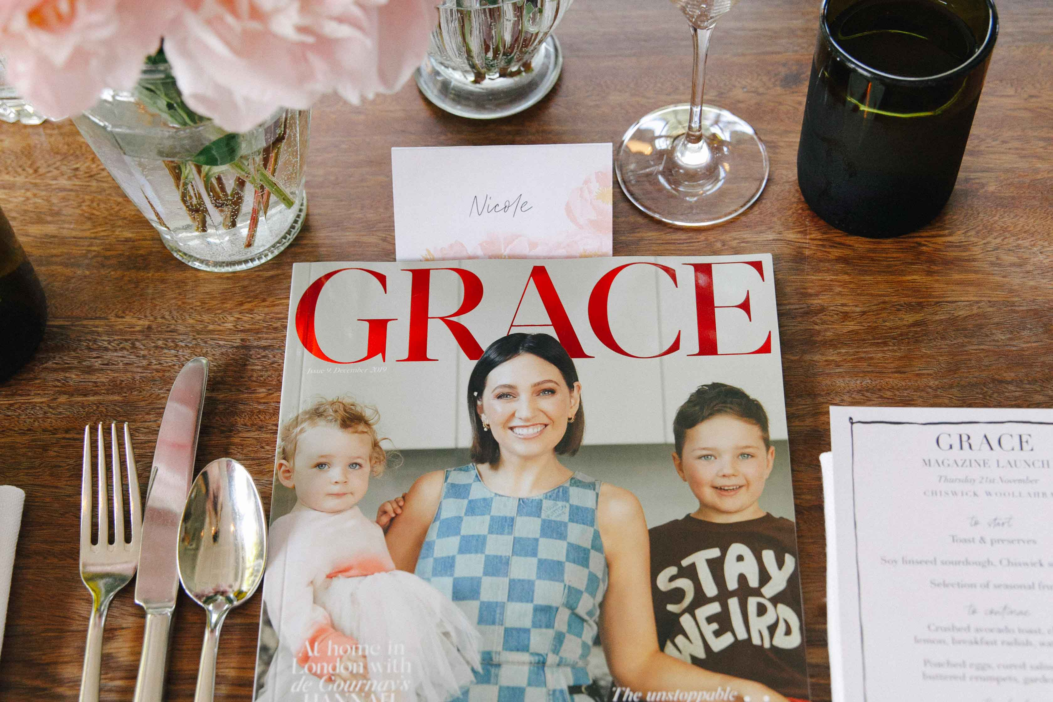 GRACE Magazine Launches As A Print Edition – And Here's How We Celebrated