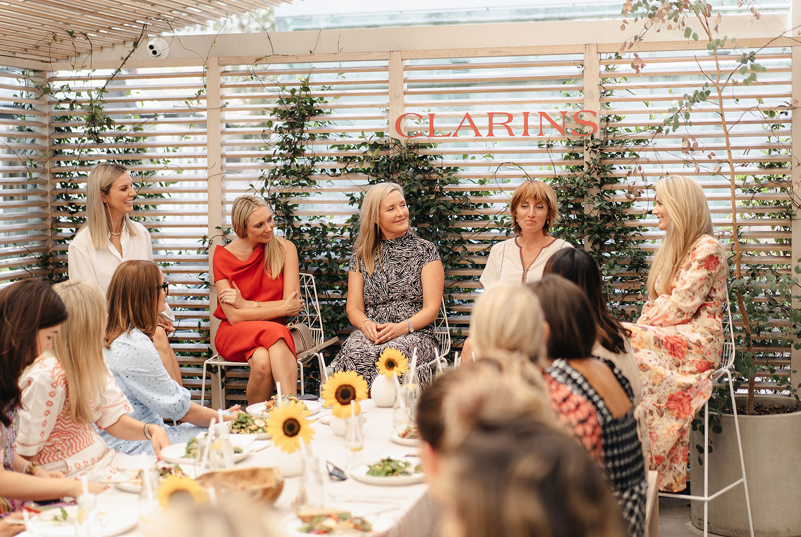 An Event To Firm Up Our Routines With Clarins