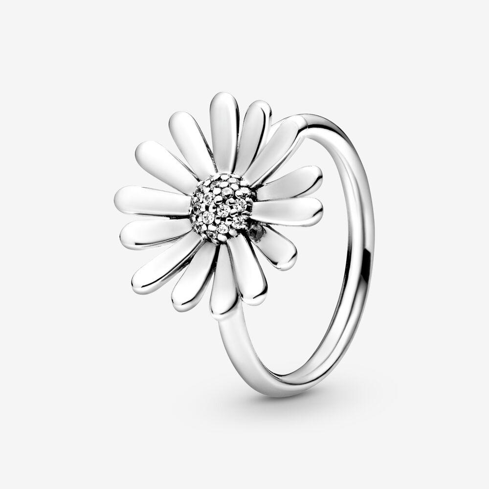Pandora Pavé Daisy Flower Statement Ring $79