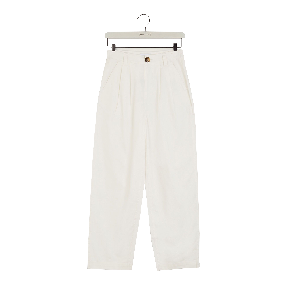 WAREHOUSE LONDON PLEAT FRONT CROPPED TROUSERS