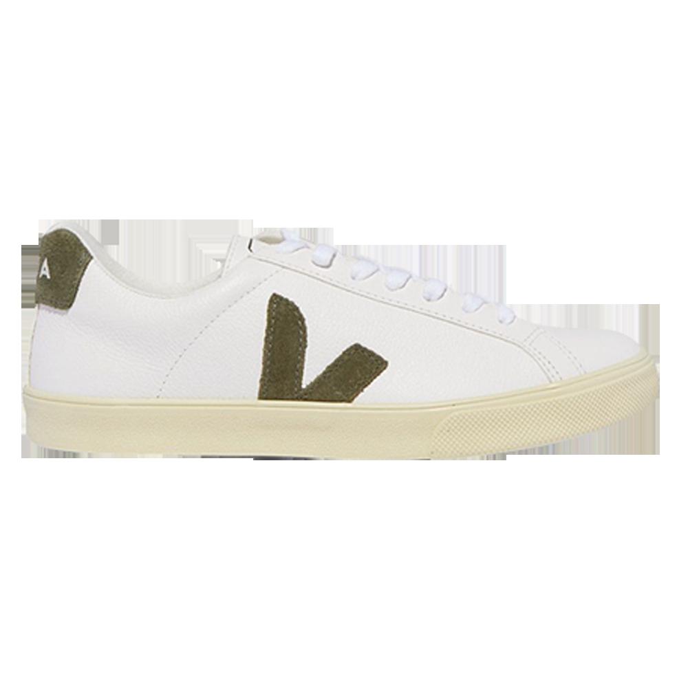 VEJA + NET SUSTAIN Esplar leather and suede sneakers $158.05