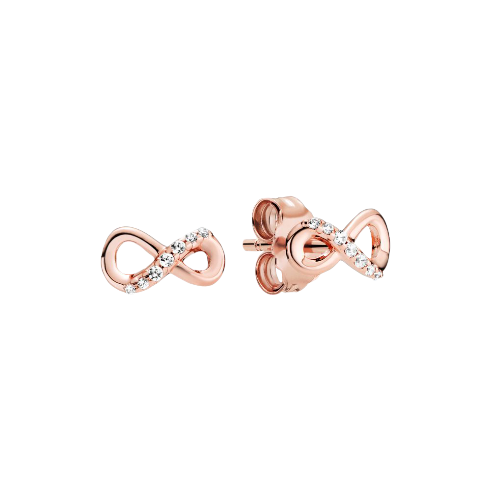 Pandora Sparkling Infinity Stud Earrings, $69