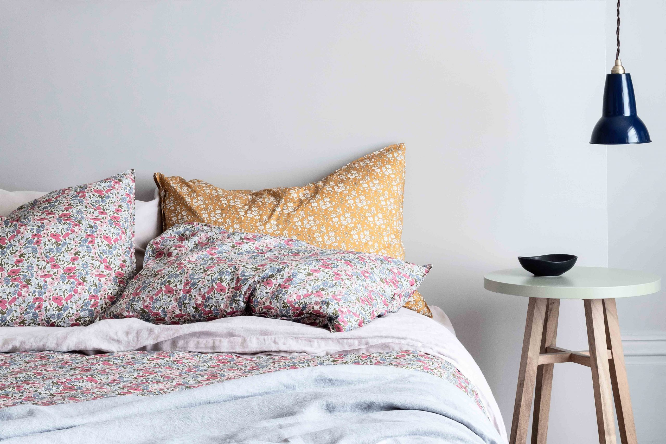 Coco & Wolf's Amy Hemmings-Batt Has Created The Largest Selection of Liberty Fabric Bedding in the World