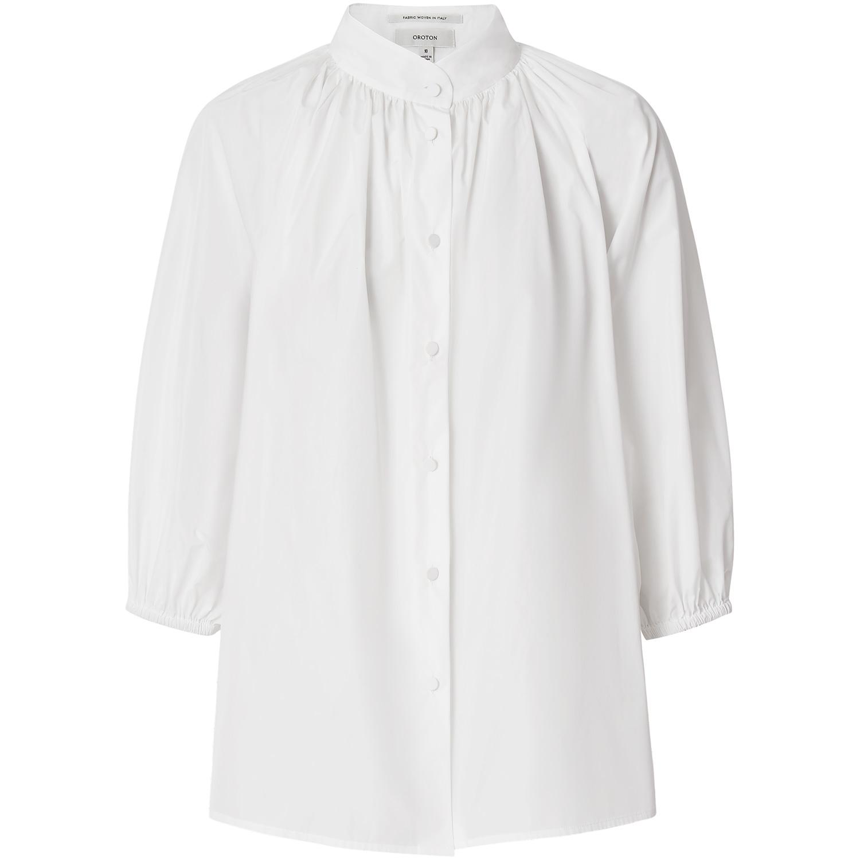Oroton Cotton Gathered Shirt $279