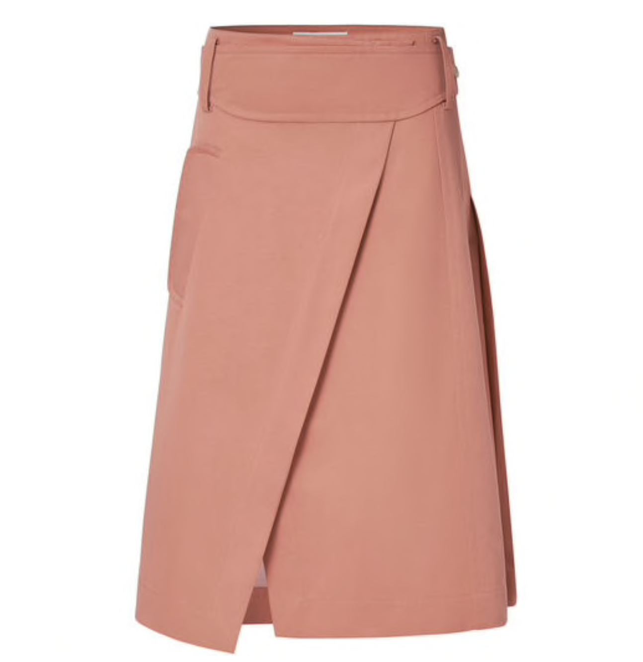 Oroton Cotton-Linen Wrap Skirt $349.00 Georgie Story