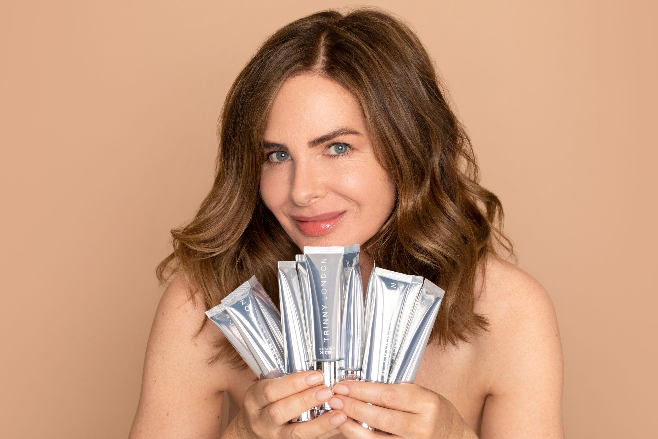 Trinny Woodall on Launching Her Makeup Empire at 53 & Her Road to Motherhood – Episode 33 of The Grace Tales Podcast